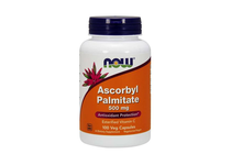 Витамини » NOW Ascorbyl Palmitate 500 mg, 100 Veg Caps
