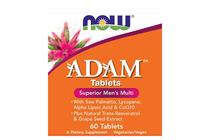 Всекидневни мултивитамини » NOW Adam Men's Vits, 60 Tablets