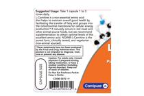 Л-Карнитин » NOW L-Carnitine 500 mg, 60 Caps