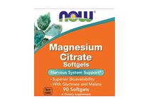 Минерали » NOW Magnesium Citrate, 90 Softgels