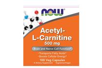 Л-Карнитин » NOW Acetyl-L-Carnitine 500 mg, 100 Caps