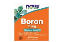 Минерали » NOW Boron 3 mg, 100 Caps