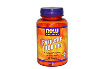Термогенни фетбърнъри » NOW Pyruvate 1000 mg, 90 Tablets