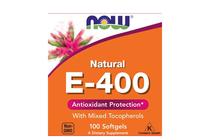 Витамини » NOW Vitamin E-400 IU MT, 100 Softgels