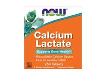 Минерали » NOW Calcium Lactate, 250 Tablets