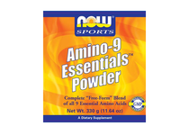 Комплексни аминокиселини » NOW Amino-9 Essentials Powder, 330 g