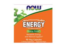 Термогенни фетбърнъри » NOW Energy, 90 Caps