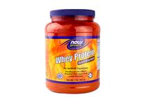 Суроватъчни протеини » NOW Whey Protein, 908 g