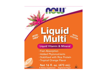 Всекидневни мултивитамини » NOW Liquid Multi, 473 ml