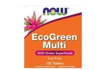 Всекидневни мултивитамини » NOW EcoGreen Multi, 120 Tablets