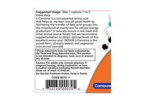 Л-Карнитин » NOW L-Carnitine 500 mg, 30 Caps