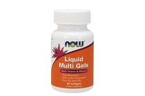 Всекидневни мултивитамини » NOW Liquid Multi Gels, 60 Softgels