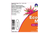 Всекидневни мултивитамини » NOW EcoGreen Multi, 60 Tablets