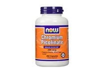 За потискане на апетита » NOW Chromium Picolinate 200 mcg, 250 Caps