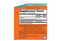 Минерали » NOW Coral Calcium 1000 mg, 100 Veg Caps