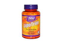Липотропни фетбърнъри » NOW Lipo Trim 120 Tablets