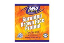 Растителни протеини » NOW Brown Rice Protein, 907 g
