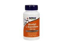 Л-Карнитин » NOW Acetyl-L-Carnitine 500 mg, 50 Caps