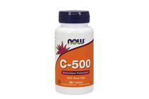 Витамини » NOW Vitamin C-500, 250 Tablets