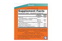 Минерали » NOW Calcium Citrate, 100 Tablets